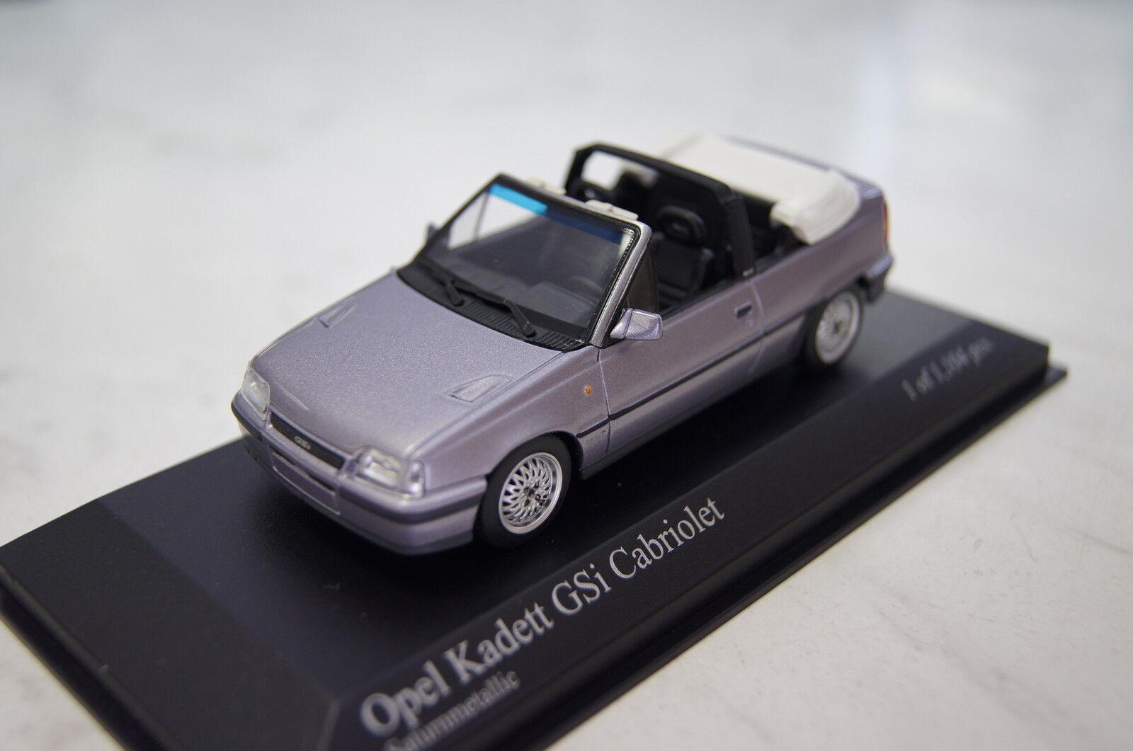 Opel Kadett Kadett Kadett E GSI Cabrio purple 1989 1 43  Minichamps neu & OVP d40182