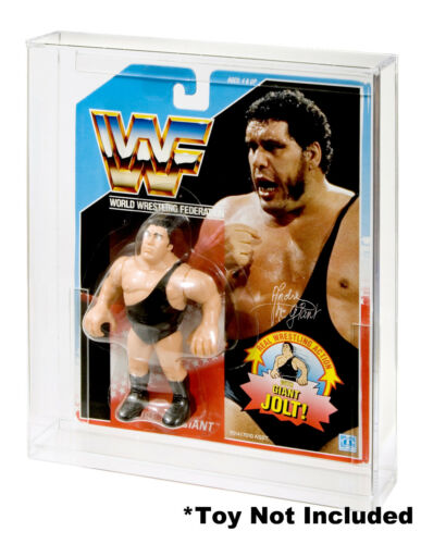 "Action Figure Display Case WWF Hasbro /""A/"""