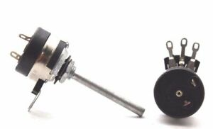 POTENTIOMETER-PIHER-5K-OHM-LOG-W-ON-OFF-NEW-OLD-STOCK-1PC-CA354U10F110817