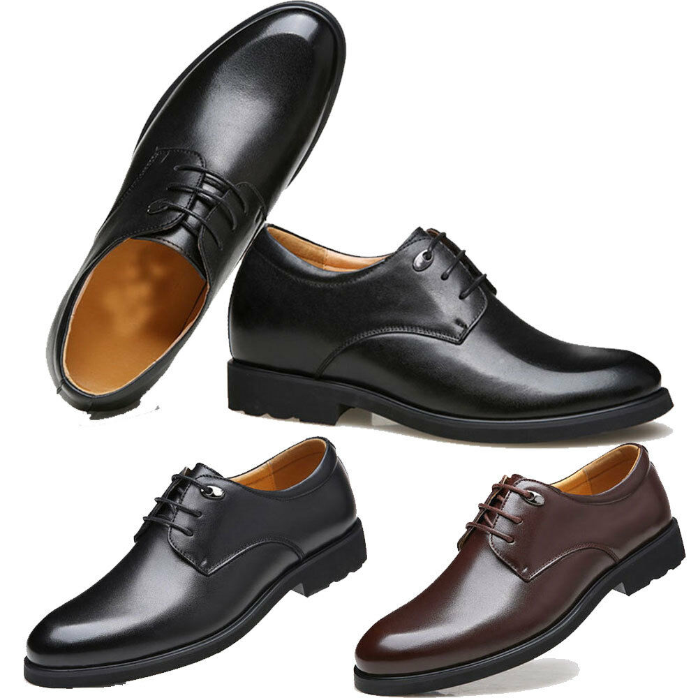 Mens Leather shoes Dress shoes Business Wedding shoes Leather formal office nEW