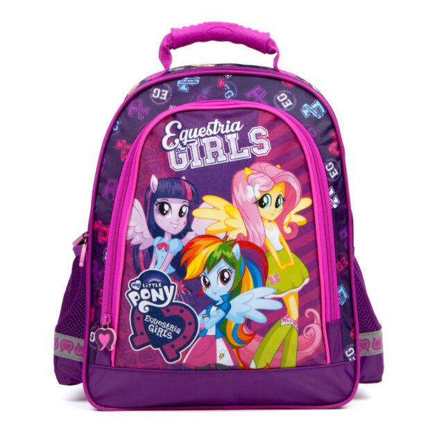 971746fbe829 Equestria Girls My Little Pony Backpack School Bag Travel Holiday Dance PE  Girls