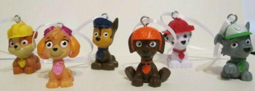 Paw Patrol Figurine Ornament Set of 6 Zuma Skye Rocky Rubble Chase Marshall