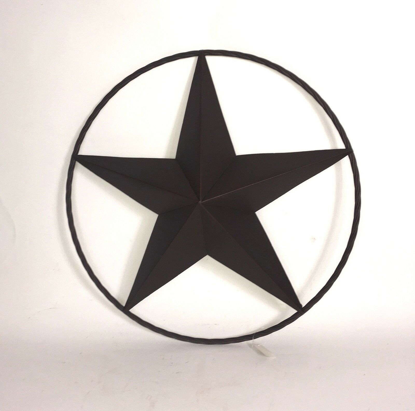 Star Metal   Home Decor Rustic   Metal Sign   Star Ring Circle  Lone Star   Wall