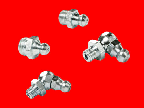 90° Abgew Schmiernippel Set Hydraulik Kegelschmiernippel 45° 110 tlg B8065