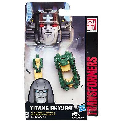Transformers Generazioni Titans ritorno TITAN MASTER Brawn per Hasbro B8355