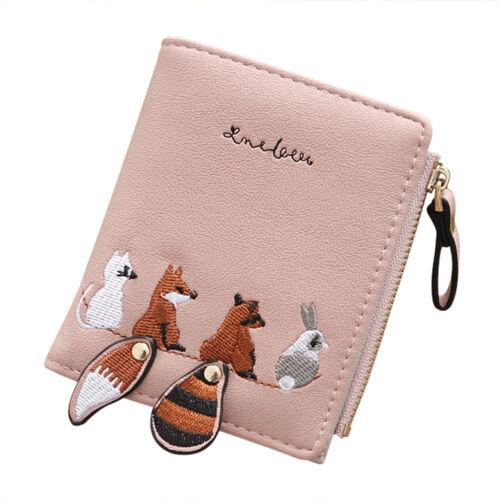 Women Animal Pattern Wallet Credit Card Multifunction Wallet Coin Purse