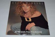 "Kylie Minogue~Je Ne Sais Pas Pourquoi & Made in Heaven~12"" Single~FAST SHIPPING"