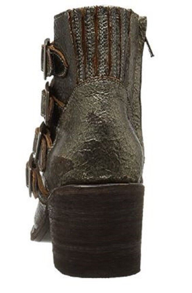 Women's Five Worlds Worlds Worlds by Cordani SAONA SANCHO Ankle Boots Vintage Leather Bronze 666320