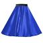 Girls-SATIN-Rock-n-Roll-Skirt-UK-1950s-Costume-Grease-Fancy-dress-ROCKABILLY thumbnail 7