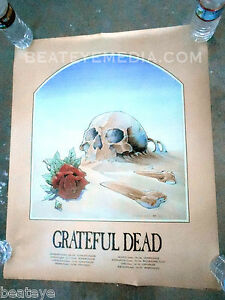 GRATEFUL-DEAD-Concert-Poster-COMIC-ART-Stanley-Mouse-Fillmore-Bill-Graham-garcia