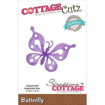 Cottage Cutz Petites Die Butterfly