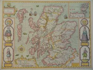 OLD-COPY-OF-JOHN-SPEED-MAP-OF-THE-KINGDOME-OF-SCOTLAND-ISLES-OF-ORKNAY-HEBRIDES