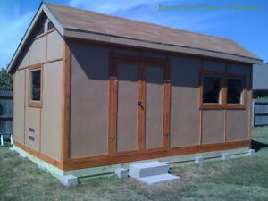 Custom-Design-Shed-Plans-8x8-Gambrel-Wood-Total-Shed-Building-Instructions-CD