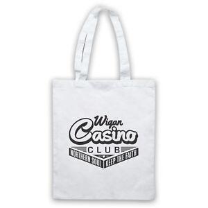Details about WIGAN CASINO NORTHERN SOUL MUSIC 70'S DANCING VENUE SHOULDER  TOTE SHOP BAG