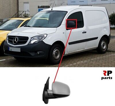 Left side for CITAN from 2012 to today Primed Wing Mirror Cover