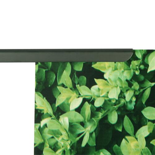 Sichtschutzstreifen inkl 30 Clips 450g//m² PVC Balkon Sichtschutzfolie 70m-350m