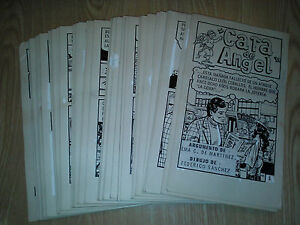 MICRO-SUSPENSO-568-ORIGINAL-COMIC-ART-COMPLETE-92-pages-Mexican-Pulp-Suspense