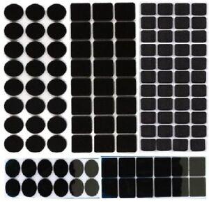 Self Adhesive Sticky Felt Pad Black Furniture Tabs Wood Floor Scratch Protector;
