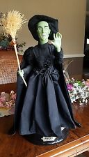 The Wizard of Oz Animated Speaking Wicked Witch of the West Figure