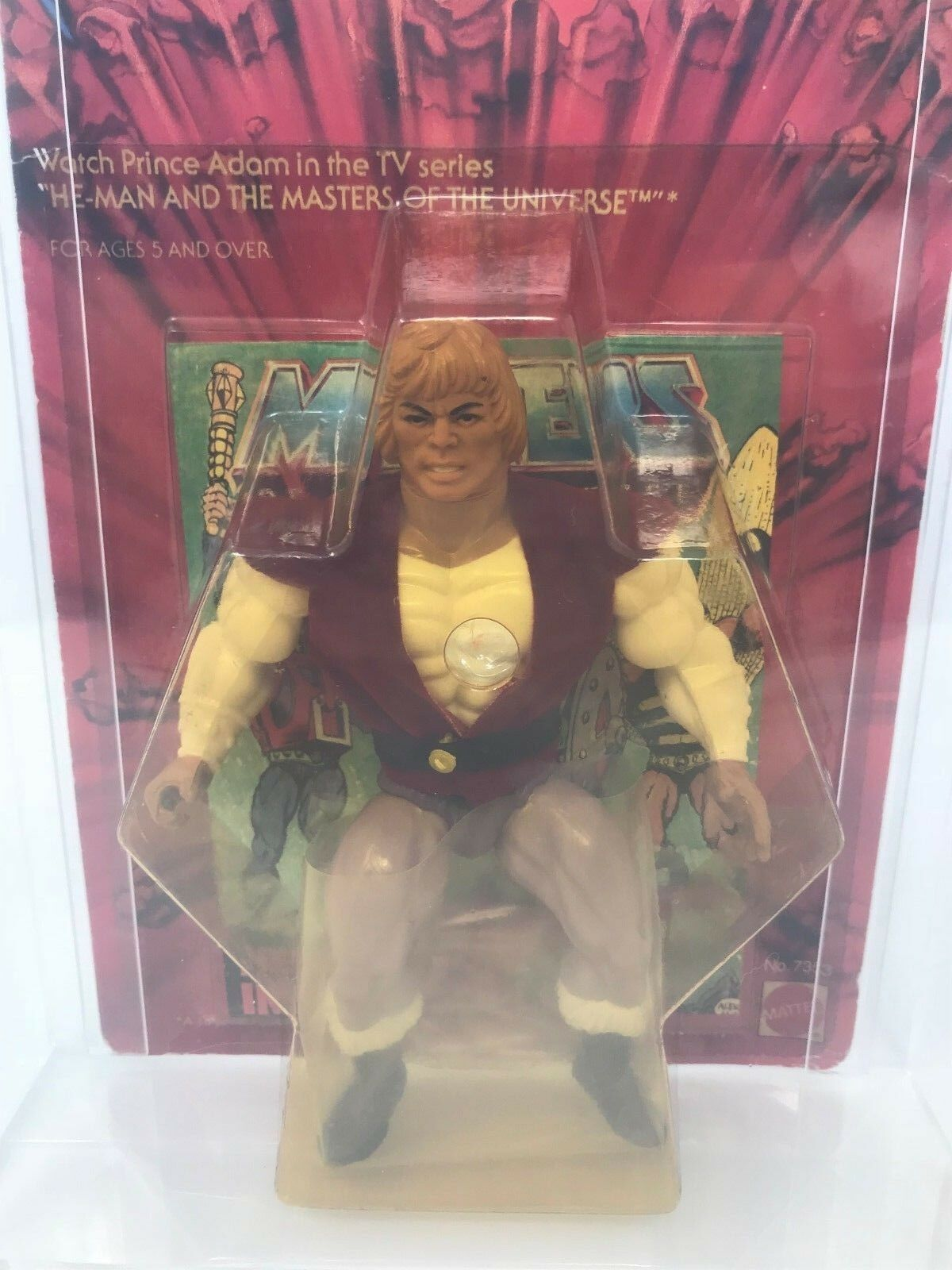 HE-MAN PRINCE ADAM Masters Of The Universe 1984 Mattel FIGURE FIGURE FIGURE Series 3 MOTU AFA 126d3d