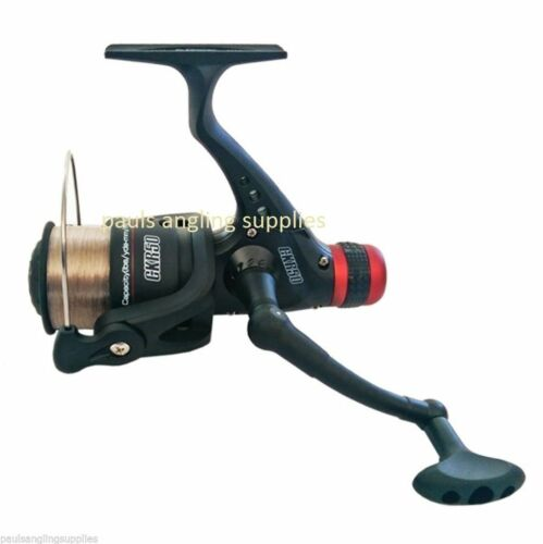 CKR50 Fishing Reel for Feeder Spin Spinning Rod 050 Size with 8lb Line