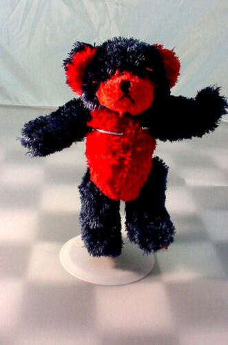 JEFF GORDON # 24  BABY BOYDS BEAR  NEW WITH TAGS  TEDDY BEAR RED AND NAVY BLUE