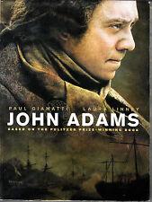 John Adams Based On Pulitzer Prize-Winning Book (DVD 3-Disc Set 2008 Widescreen)