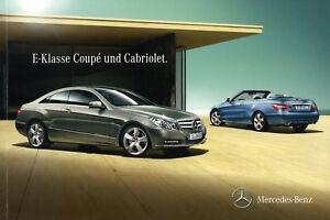 Mercedes-E-Klasse-Coupe-Cabriolet-Prospekt-2011-6-11-brochure-250-300-350-500-ua