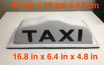 Taxi Top Light ATC 02 with Three Magnets
