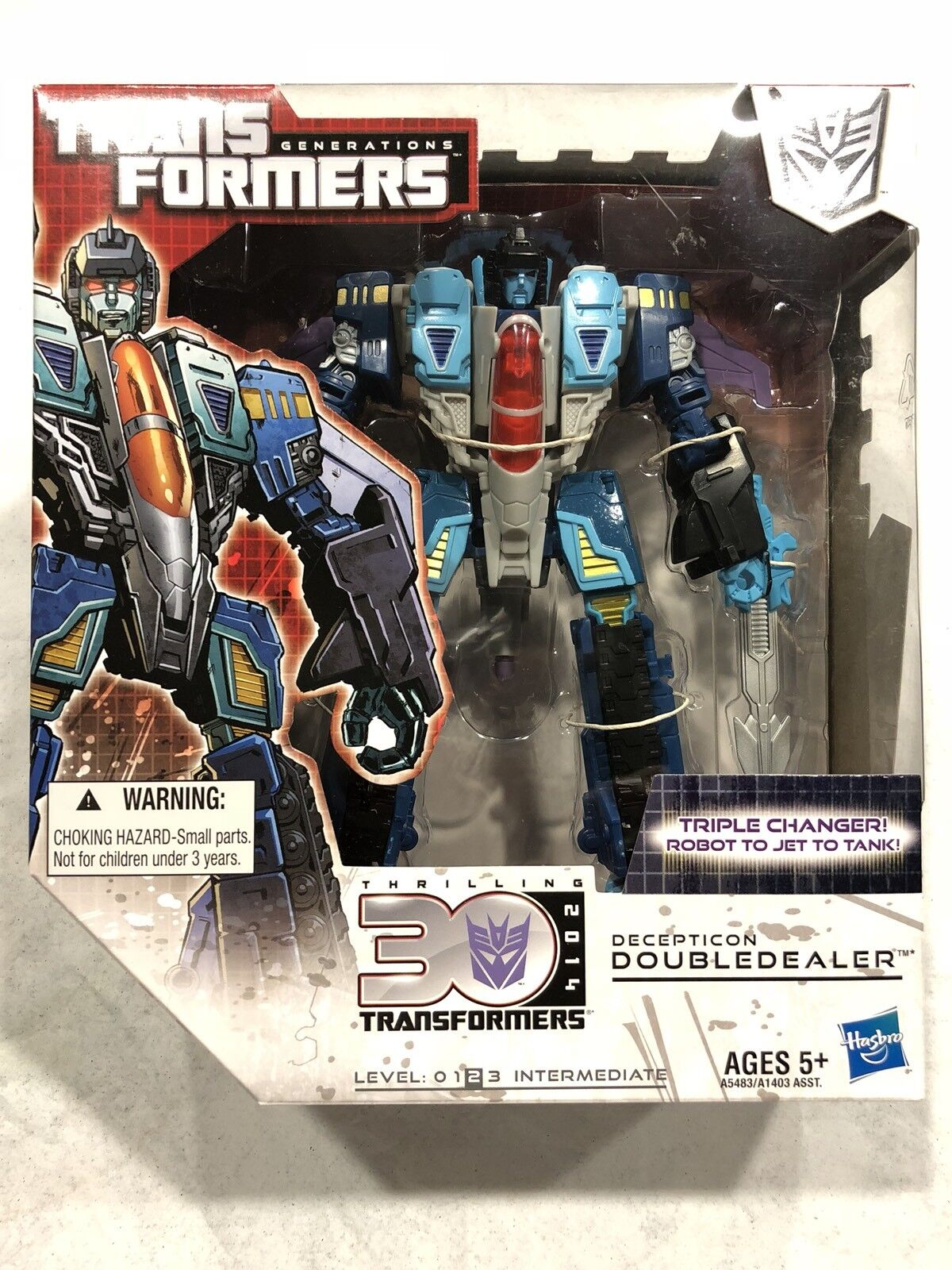 Transformers G1 classicsgenerations 30th aniversario Voyager Doubledealer Nuevo