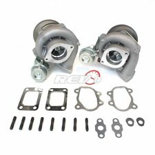 FITS FOR 90-96 300ZX Z32 UPGRADE BOLT ON TWIN TURBO CHARGER VG30DETT T28 600HP
