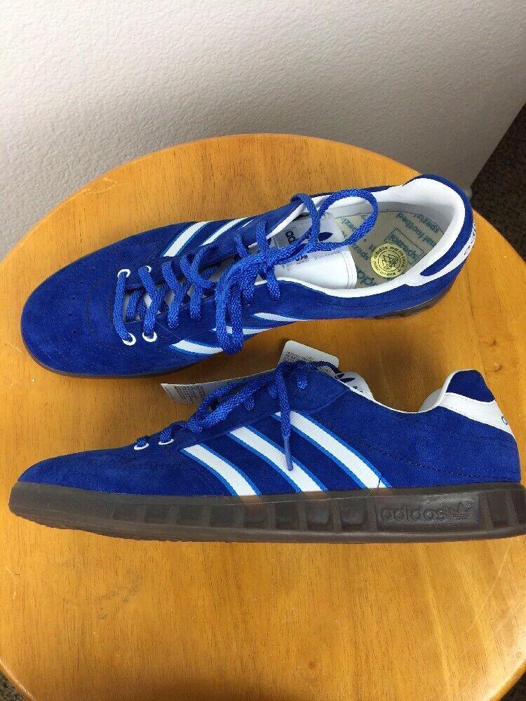 NWT ADIDAS Handball Spezial bluee  White Sz 11