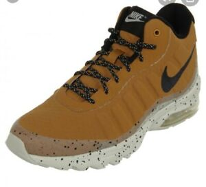 Details about Nike Air Max Invigor Mid Size 7.5 Men's WheatBlack Light Bone 858654 700