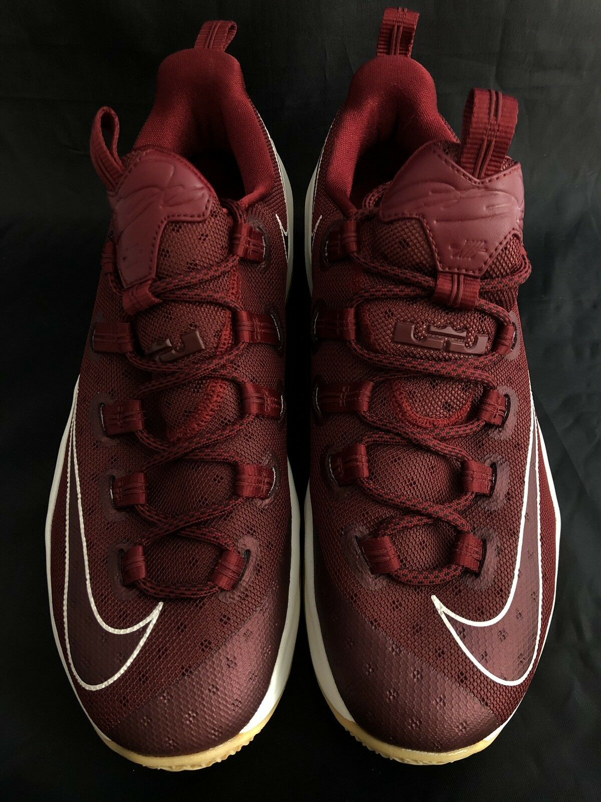 Nike Men's Lebron XIII 13 Low Basketball Shoe Burgundy Gum 9.5 831925-610 Size 9.5 Gum 836c77