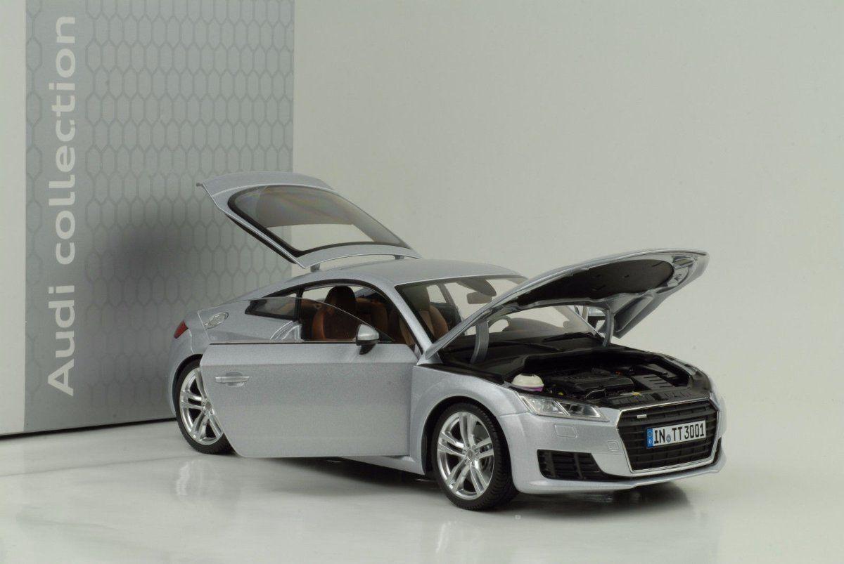 Minichamps 1 18 Audi TT Coupe 2014 Argent-Concessionnaire Modèle
