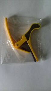Quick-Change-Capo-for-Acoustic-Electric-Classical-Guitar-Yellow