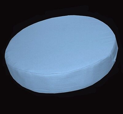 aa132n White Round Shape Cotton Canvas Cushion Cover//Pillow Case*Custom Size