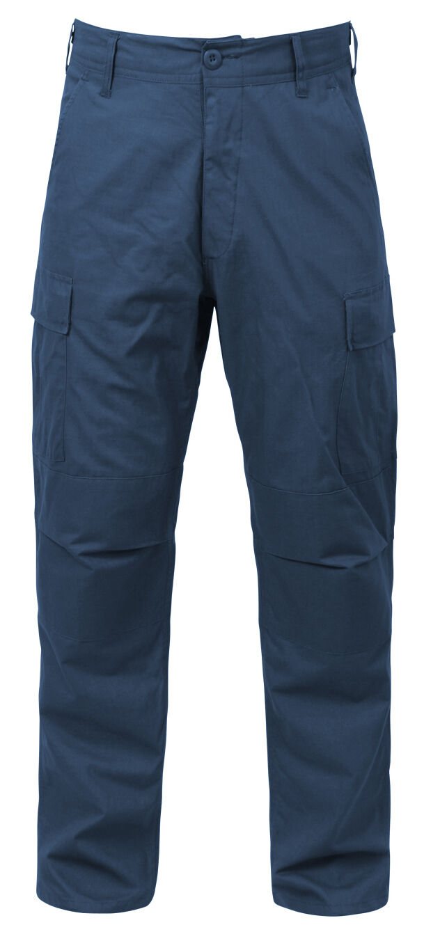 Military bdu style pants navy bluee rip stop tactical uniform trouser redhco 5929