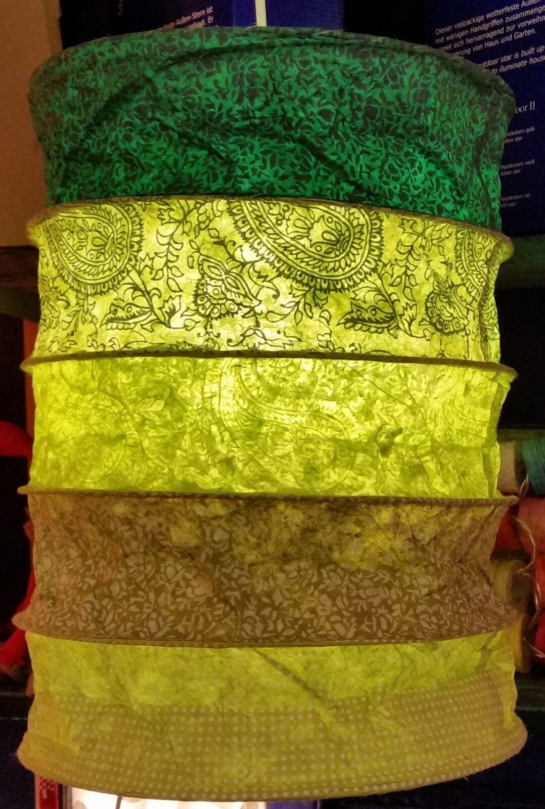 NEU Deckenpendel E27 PAPIERLAMPE Lampenschirm LOKTA EVEREST grün Lampe