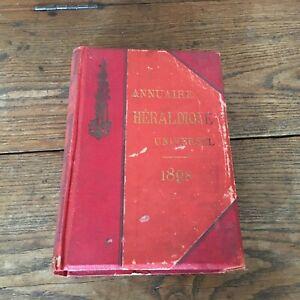 Annuario Istituto Araldica Universale Sterzo E Scrittura 1898