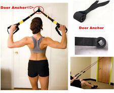Resistance Exercise Bands - Advanced Door Anchor Black