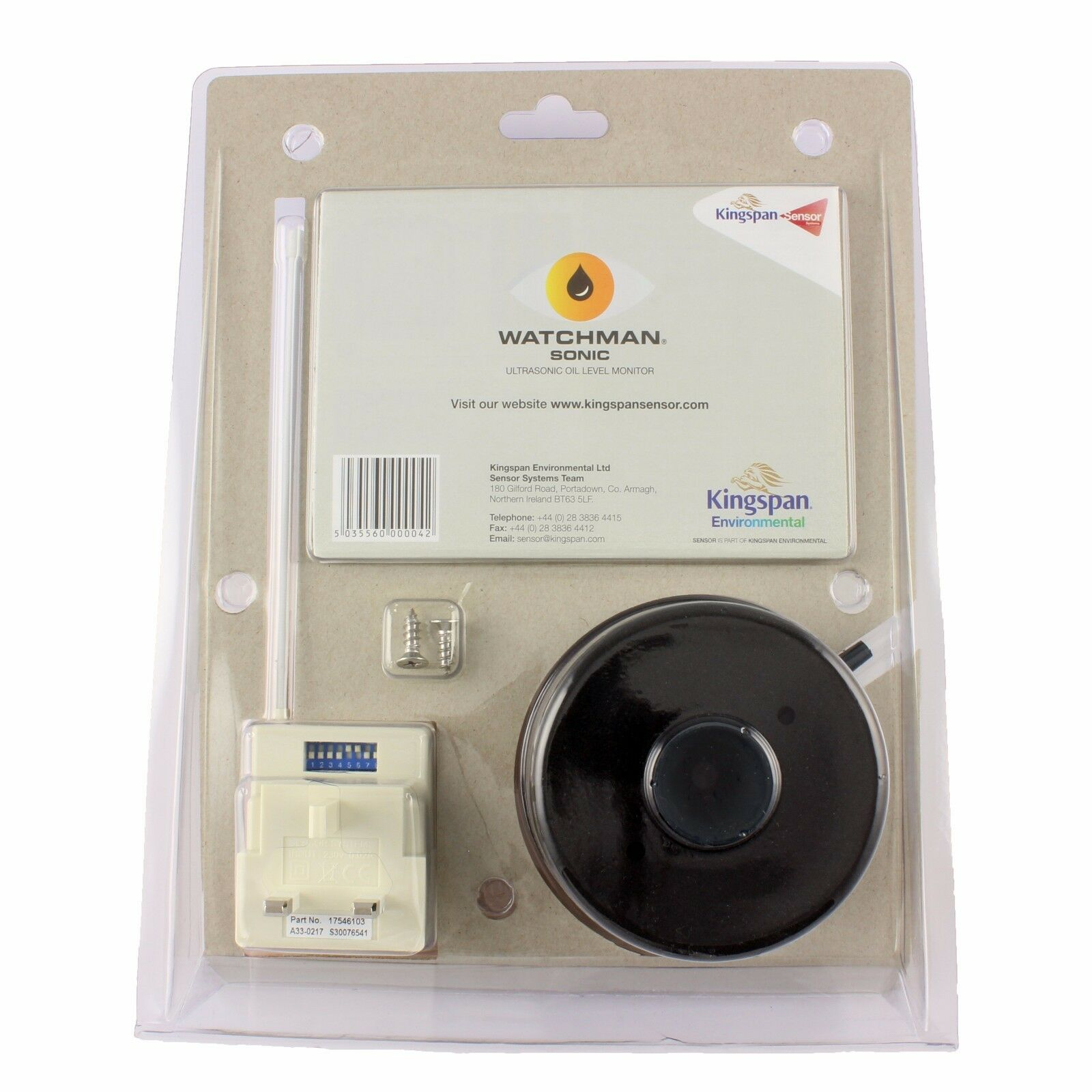 Titan Watchman Sonic Oil Tank Level Monitor 3963 Ebay