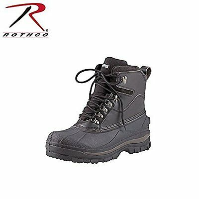 NEW Rothco 8'' Cold Weather Hiking Boot - Black - Size: 10