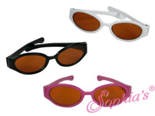 """American Girl White Frame Sunglasses will fit all 18/"""" Dolls A-5"""
