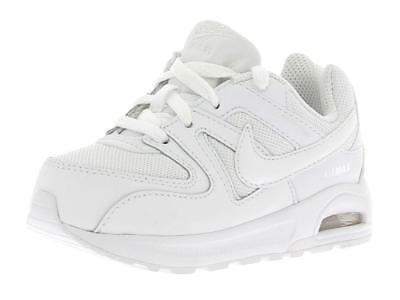 Nike Air Max Command Flex (TD) Scarpe Junior WhiteWhite 844348 101 | eBay