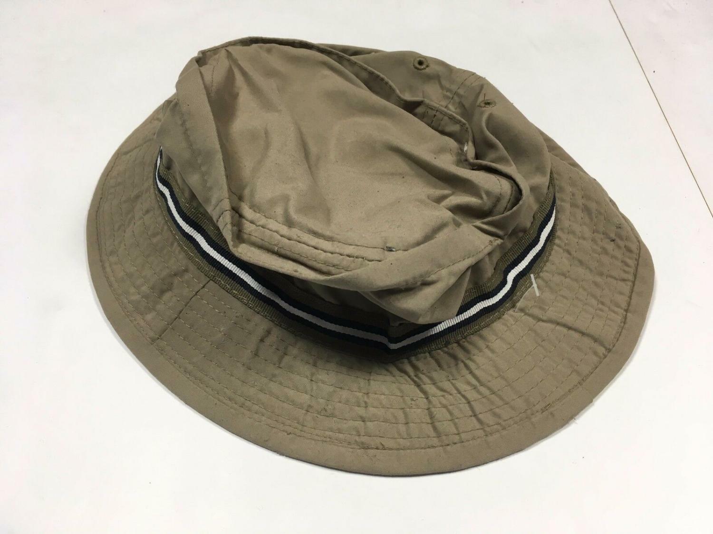 00193 Herren Mütze Hut GO MAD Gr. 58 cm beige