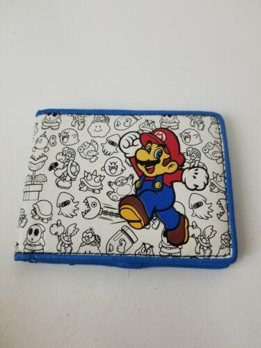 Nintendo Super Nintendo Mario Wallet Billfold