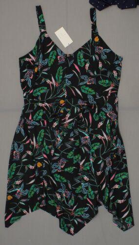 NWT A New Day Women/'s Striped or Floral Sleeveless Tie Waist Sheath Dress