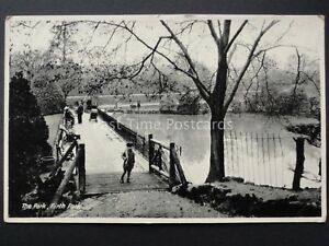 Yorkshire-SHEFFIELD-Firth-Park-THE-PARK-Old-Postcard