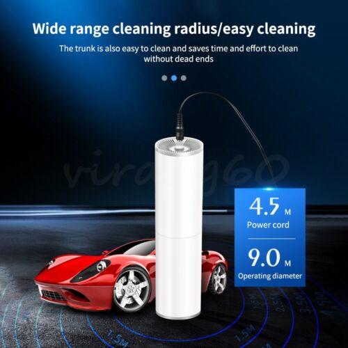 12V 120W Mini Handheld Car Vacuum Cleaner Lightweight Portable Auto Wet & Dry UK